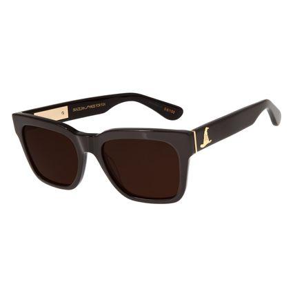 Óculos de Sol Feminino Harry Potter Quadrado Preto OC.CL.2908-0202
