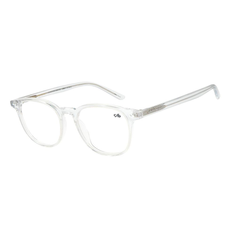 Armação Para Óculos De Grau Masculino Chilli Beans Quadrado Transparente LV.AC.0542-3636