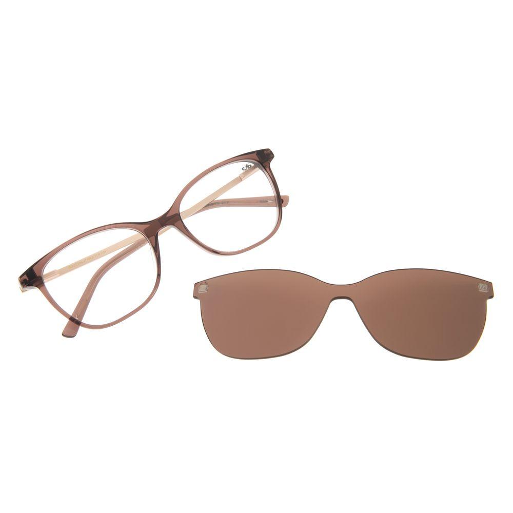 Armação Para Óculos de Grau Chilli Beans Quadrado Multi Marrom LV.MU.0206-0202