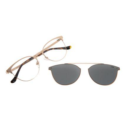 Armação Para Óculos De Grau Feminino Chilli Beans Multi Quadrado Rose LV.MU.0360-0195