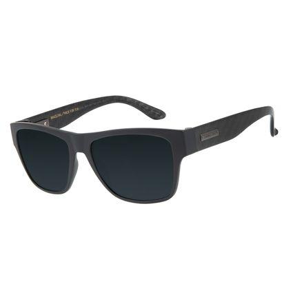 Óculos De Sol Masculino Chilli Beans Bossa Nova Preto Flash Polarizado OC.CL.2847-0001