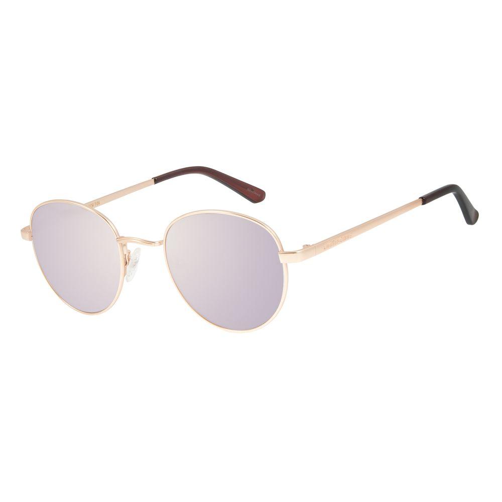 Óculos de Sol Unissex Chilli Beans Redondo Espelhado OC.MT.2517-3231