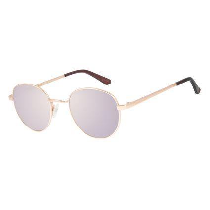 Óculos de Sol Unissex Chilli Beans Essential Redondo Espelhado OC.MT.2517-3231