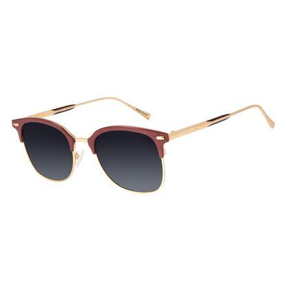 Óculos de Sol Unissex Chilli Beans Jazz Vinho Polarizado OC.CL.2970-2017