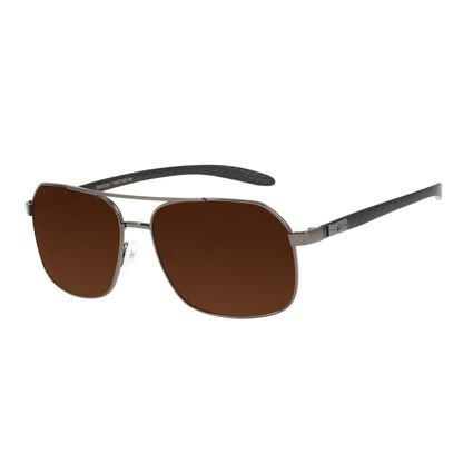 Óculos de Sol Masculino Chilli Beans Executivo Ônix OC.MT.2838-0222