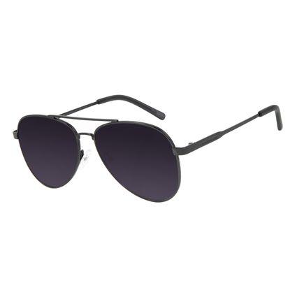 Óculos de Sol Unissex Chilli Beans Aviador Preto OC.MT.2846-2001