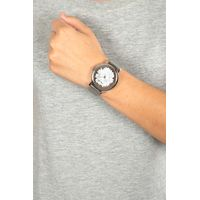 Relógio Analógico Feminino Chilli Beans Redondo Metal Prata Floral RE.MT.0969-0707.4