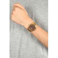 Relógio Analógico Masculino Chilli Beans Wooden Dourado RE.MT.0981-0221.4