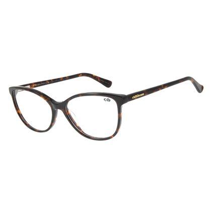 Armação para Óculos de Grau Chilli Beans Gatinho Tartaruga LV.AC.0632-0606