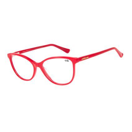 Armação para Óculos de Grau Chilli Beans Gatinho Vermelho LV.AC.0632-1616