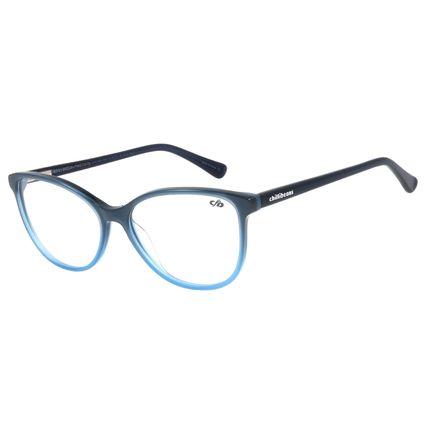 Armação para Óculos de Grau Chilli Beans Gatinho Azul LV.AC.0632-0808