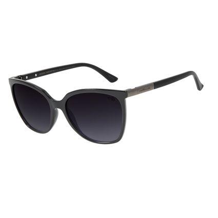 Óculos de Sol Feminino Chilli Beans Redondo Basic Preto OC.CL.2952-2001