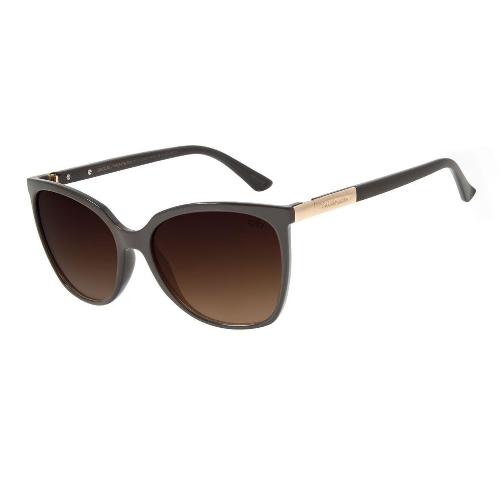 Óculos de Sol Feminino Chilli Beans Redondo Basic Tartaruga OC.CL.2952-5706
