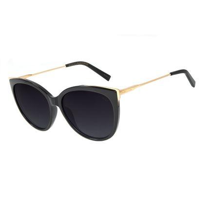 Óculos de Sol Feminino Chilli Beans Gatinho Brilho Polarizado OC.CL.2997-2030