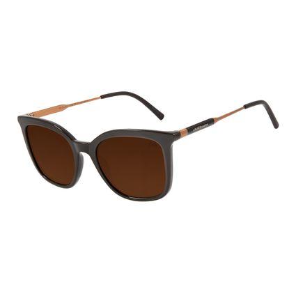 Óculos de Sol Feminino Chilli Beans Quadrado Clássico Marrom OC.CL.3011-0202