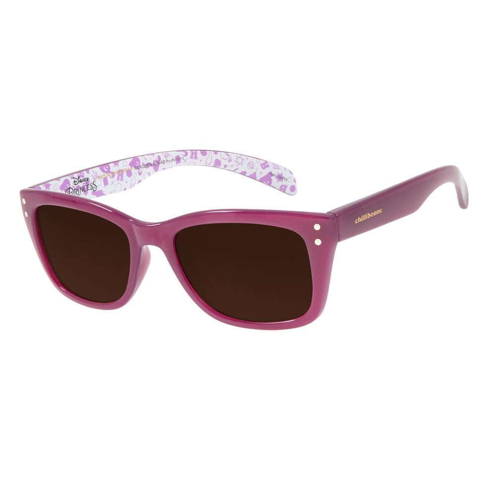 Óculos De Sol Infantil Disney Princesas Rapunzel Roxo OC.KD.0639-0214
