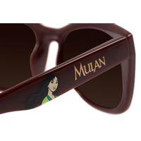 Óculos De Sol Infantil Disney Princesas Mulan Vinho OC.KD.0639-0217.8