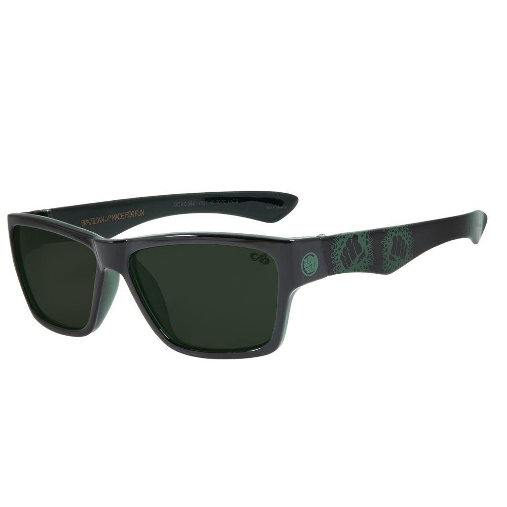 Óculos De Sol Infantil Disney Hulk Performance Verde OC.KD.0640-1501