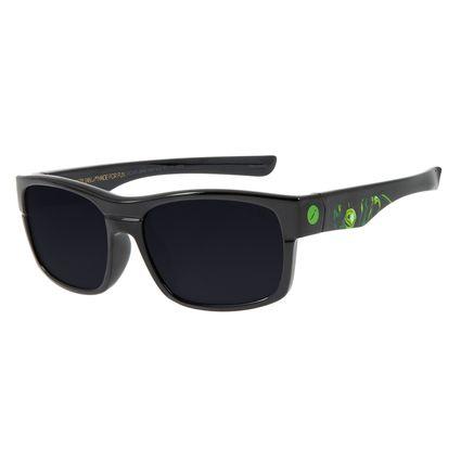 Óculos De Sol Infantil Disney Vingadores Hulk Quadrado Preto OC.KD.0646-0501