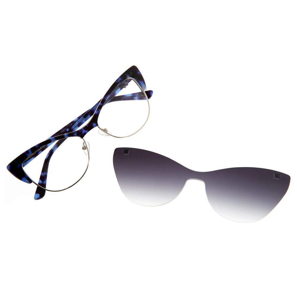 Armação Para Óculos De Grau Feminino Chilli Beans Gatinho Degradê LV.MU.0157-2065