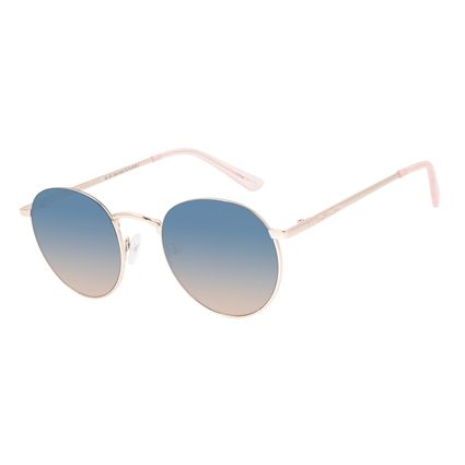 Óculos de Sol Feminino Chilli Beans Redondo Rose OC.MT.2844-8095