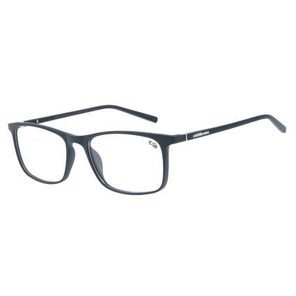 Armação Para Óculos De Grau Masculino Chilli Beans Retangular Azul Escuro LV.IJ.0107-9090