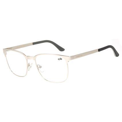 Armação Para Óculos De Grau Masculino Chilli Beans Jazz Prata LV.MT.0405-0707