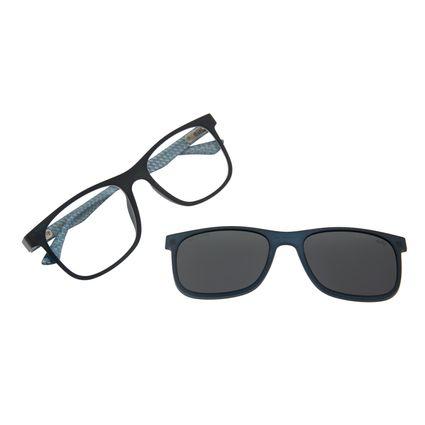 Armação Para Óculos De Grau Masculino Chilli Beans Multi Polarizado Azul LV.MU.0367-0408
