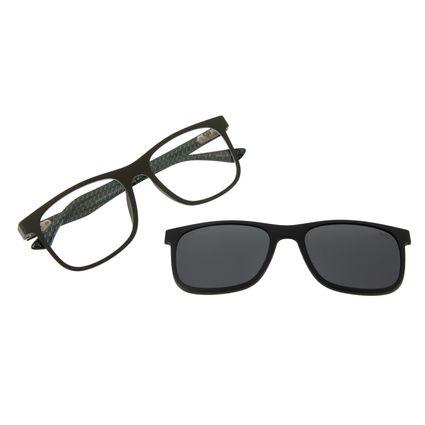 Armação Para Óculos De Grau Masculino Chilli Beans Multi Polarizado Preto LV.MU.0367-0401