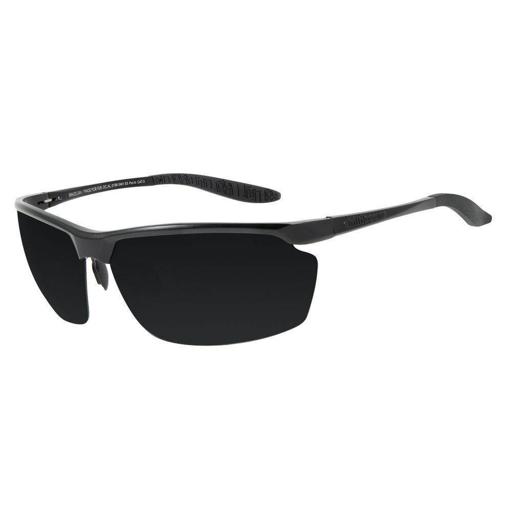 Óculos de Sol Masculino Chilli Beans Flutuante Marrom Escuro Polarizado OC.AL.0194-0401