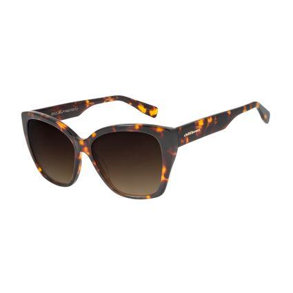Óculos de Sol Feminino Chilli Beans Quadrado Trend Tartaruga OC.CL.2993-5706