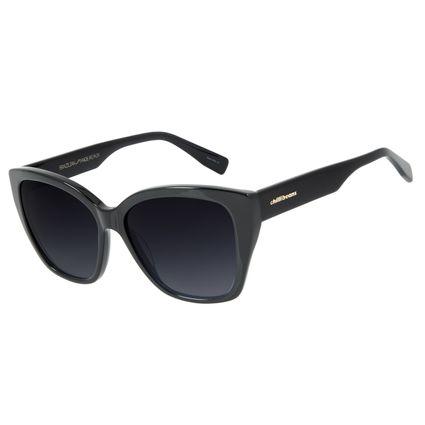 Óculos de Sol Feminino Chilli Beans Quadrado Trend Preto OC.CL.2993-2001
