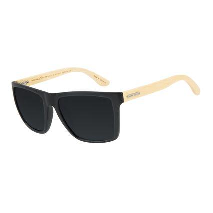 Óculos de Sol Masculino Quadrado Bamboo Fosco OC.CL.3017-0131