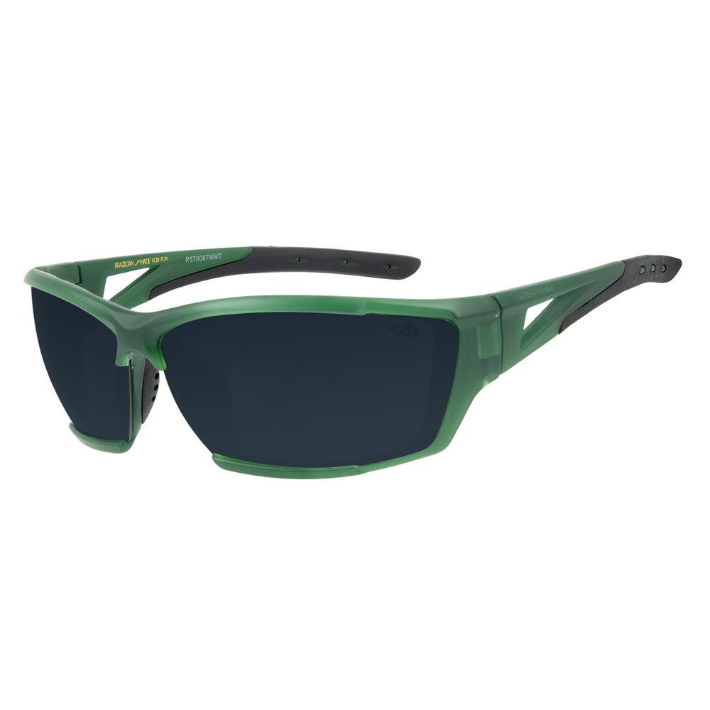 Óculos de Sol Masculino Chilli Beans Esportivo Performance Verde OC.ES.1216-2015