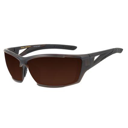 Óculos de Sol Masculino Chilli Beans Esportivo Performance Marrom OC.ES.1216-5702