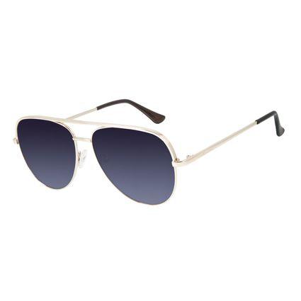 Óculos de Sol Unissex Chilli Beans Aviador Degradê OC.MT.2836-2021