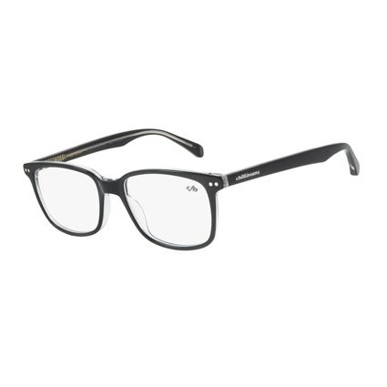 Armação Para Óculos De Grau Masculino Chilli Beans Quadrado Casual Preto LV.AC.0546-0101