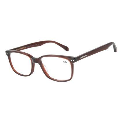 Armação Para Óculos De Grau Masculino Chilli Beans Quadrado Casual Caramelo LV.AC.0546-0303