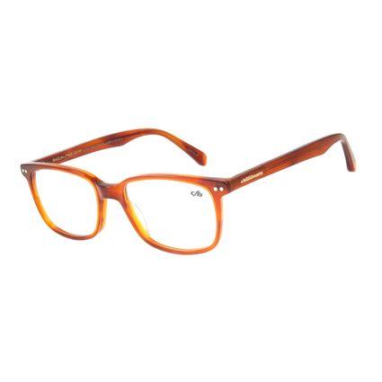 Armação Para Óculos De Grau Masculino Chilli Beans Quadrado Casual Marrom LV.AC.0546-0202