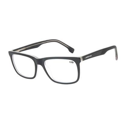 Armação Para Óculos de Grau Masculino Chilli Beans Casual Preto LV.AC.0625-0101