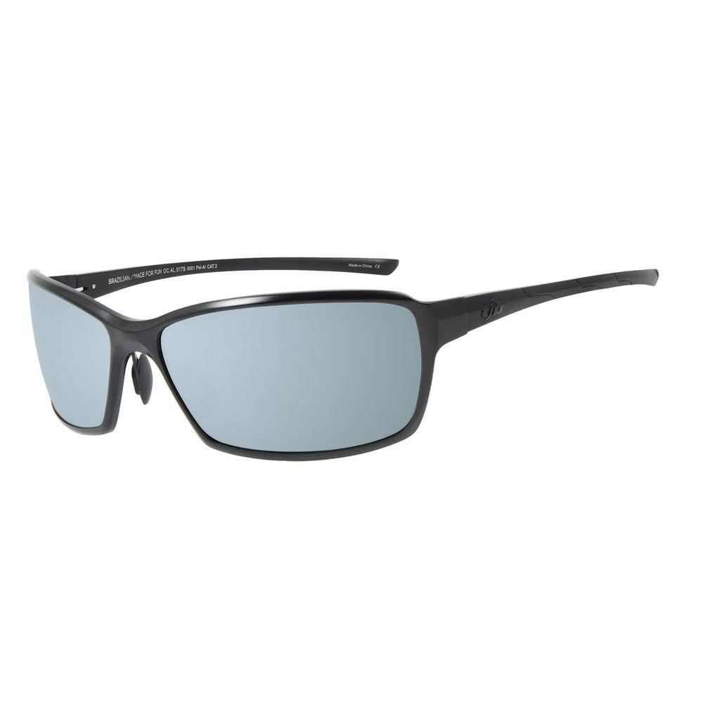 Óculos de Sol Masculino Chilli Beans Quadrado Esportivo Flash Polarizado OC.AL.0179-0001
