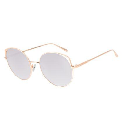 Óculos de Sol Feminino Chilli Beans Banhado A Ouro Degradê Marrom OC.MT.2771-5795