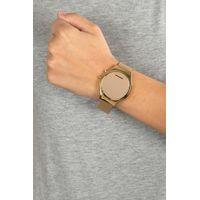 Relógio Digital Feminino Chilli Beans Fashion Espelhado Dourado RE.MT.0461-2121.4