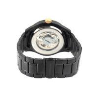 Relógio Automático Masculino Chilli Beans Metal Escovado Preto RE.MT.1035-0101.2