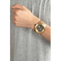 Relógio Automático Masculino Chilli Beans Metal Escovado Dourado RE.MT.1035-2121.4