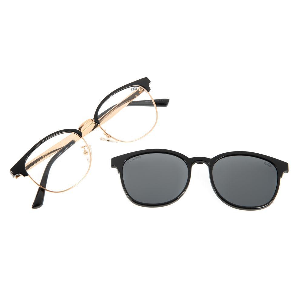 Armação Para Óculos de Grau Feminino Chilli Beans Multi Jazz Preto LV.MU.0385-0401