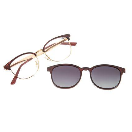 Armação Para Óculos de Grau Feminino Chilli Beans Multi Jazz Vinho LV.MU.0385-2017
