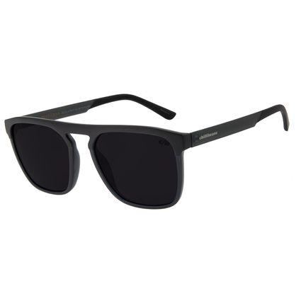 Óculos de Sol Masculino Chilli Beans Quadrado Clássic Escuro OC.CL.2794-0138