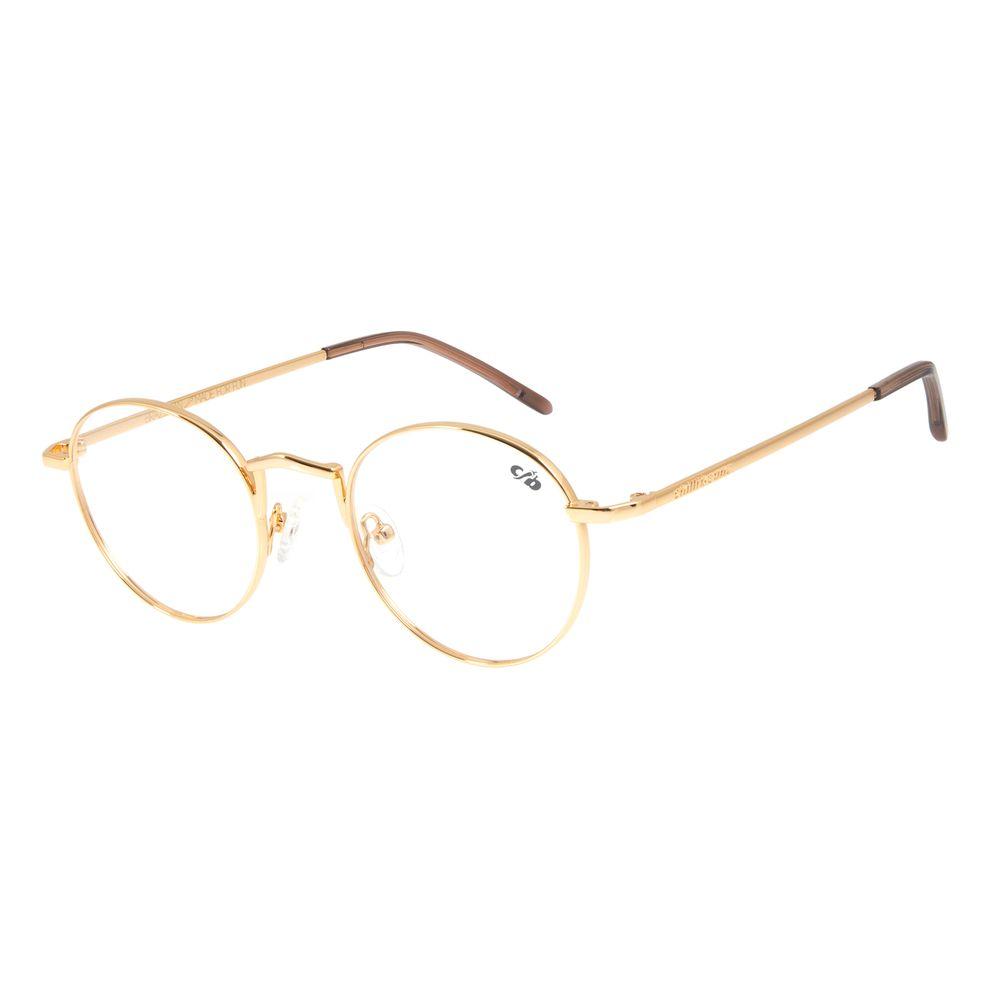 Armação Para Óculos de Grau Chilli Beans Banhado A Ouro Dourado LV.MT.0391-2121