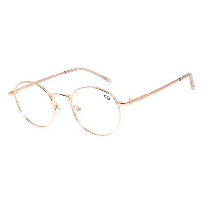 Armação Para Óculos de Grau Chilli Beans Banhado A Ouro Rosê LV.MT.0391-9595